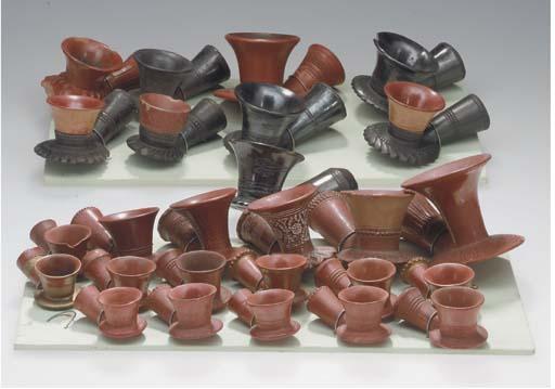 Twenty-six Topane pipe section