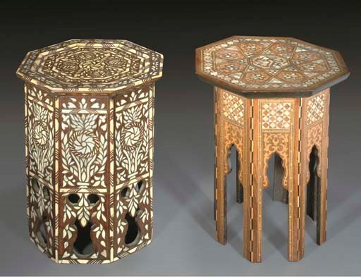 An Ottoman mother of pearl inl