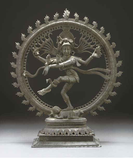 A South Indian bronze model of
