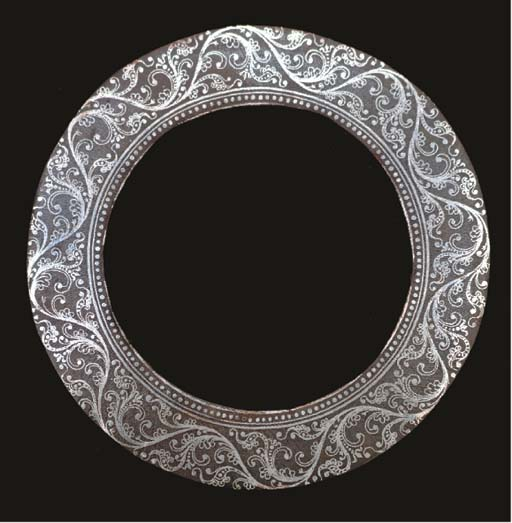 A DECORATED SIKH CHAKRAM, PUNJ