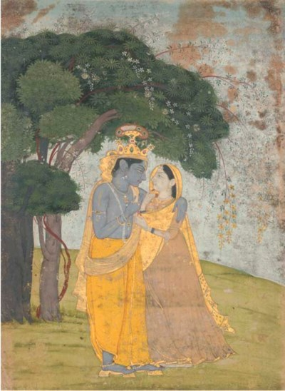 KRISHNA AND RADHA, KANGRA EARL
