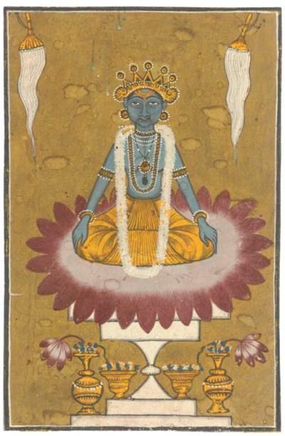 VISHNU SEATED ON A LOTUS, PAHA