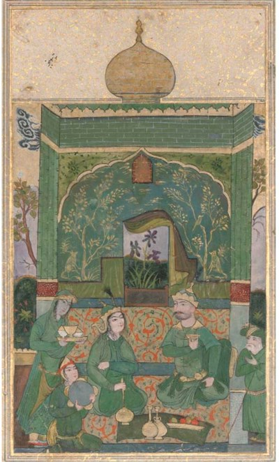 BAHRAM GUR IN THE GREEN PAVILI
