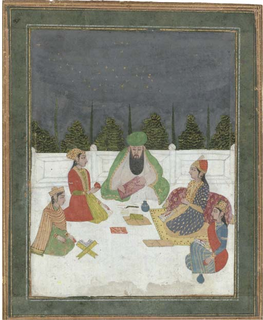 A GROUP OF FEMALE SCHOLARS WIT