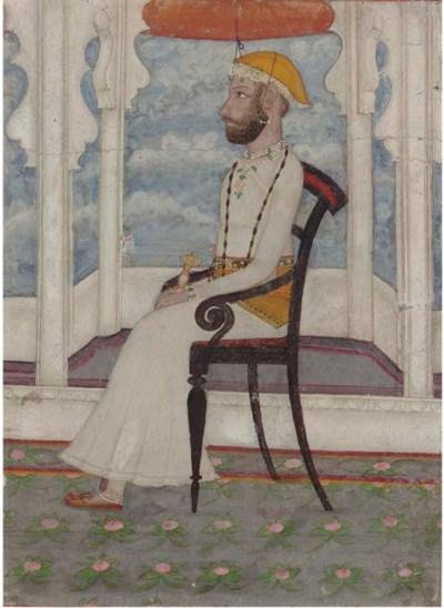 PORTRAIT OF SINGH MAHARANA OF