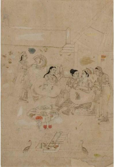 A SCENE IN THE HAREM, PROVINCI