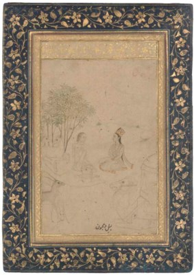 LAYLA AND MAJNUN, MUGHAL INDIA