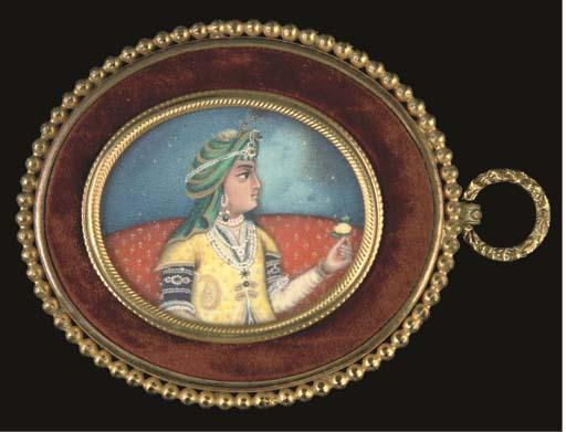MINIATURE PORTRAIT OF DILIP SI