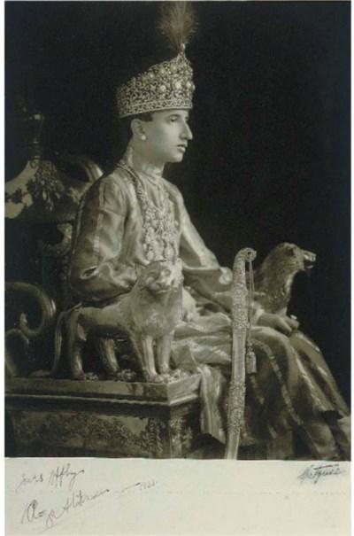 PORTRAIT OF REZA ALI KHAN, IND