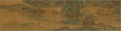 A hand scroll, 19th Century