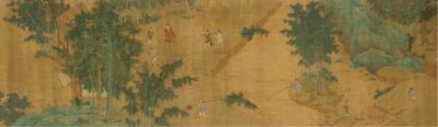 A hand scroll, 19th Century
