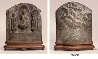 A stone stele, Wei dynasty