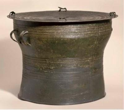 A bronze drum, Thailand, 15th-