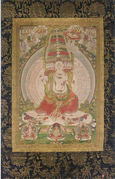 A Tibetan thanka, 17th/18th Ce