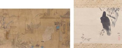 A scroll painting, 19th Centur