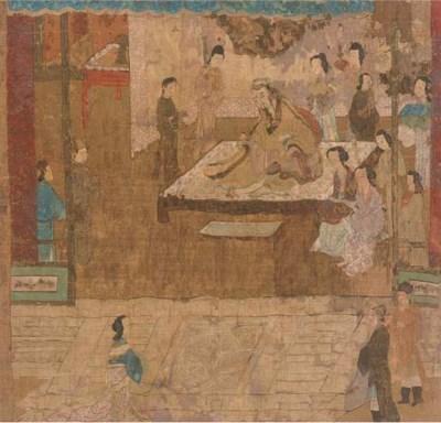 Three various paintings, 18th