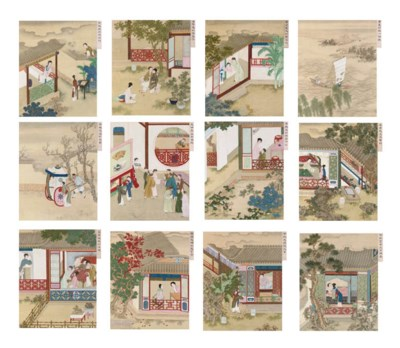Illustrations of scenes from t