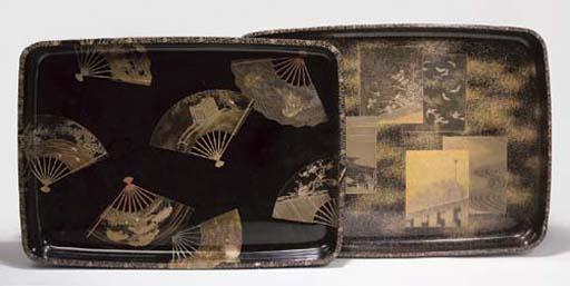 Two Japanese rectangular shape