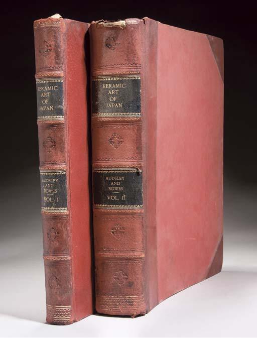 Two books entitled Keramic Art