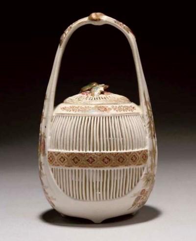 A Japanese satsuma pierced cri