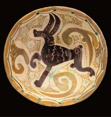 A Nishapur pottery bowl, North