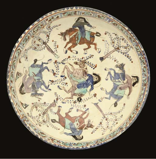 A Minai pottery bowl, Central