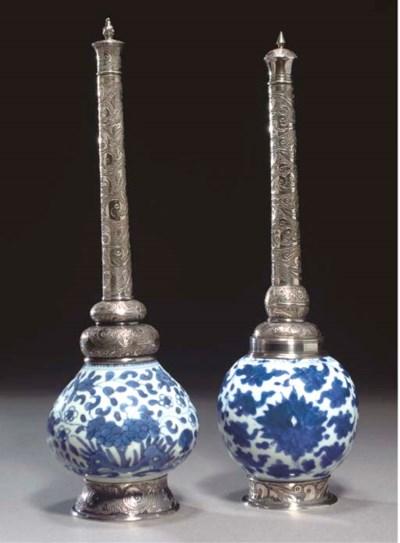 TWO KANGXI ISLAMIC MARKET BLUE