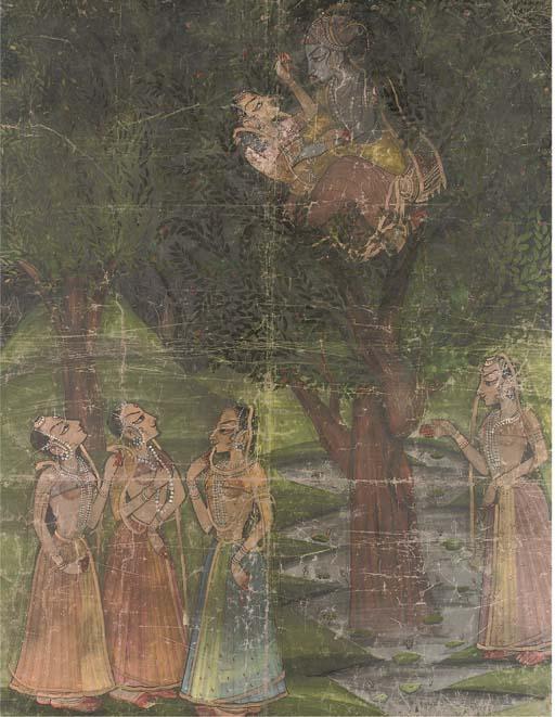 PICHVAI, KISHANGARH, 19TH CENT