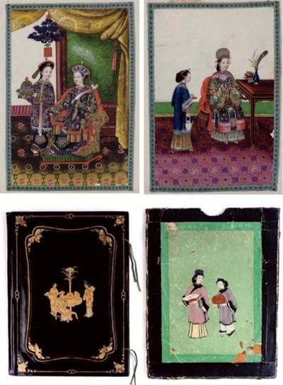 An Export rice paper album, mi