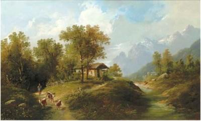 Eduard Boehm (Austrian, 1830-1