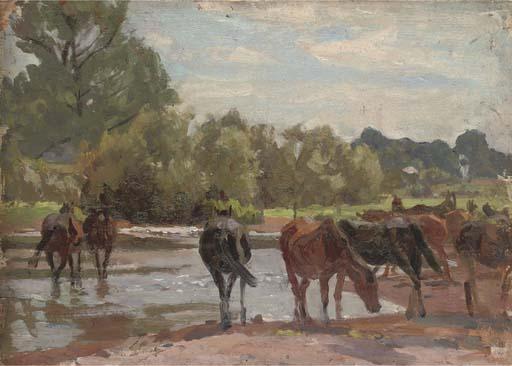 Algernon Talmage, R.A. (1871-1