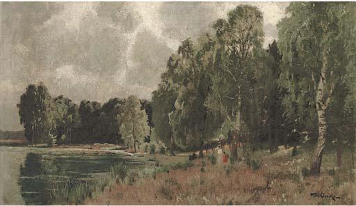 Karl Oenike (German, 1862-1924
