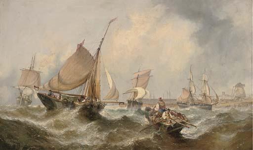William Calcott Knell (c.1830-