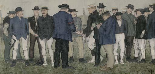 Circle of Ferdinand Hodler (Swiss, 1853-1918)
