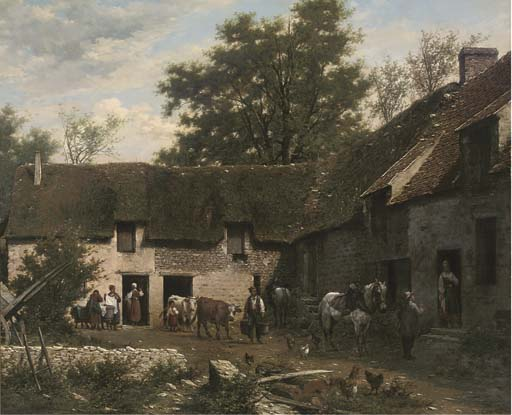 Léon Legat (French, b.1829)