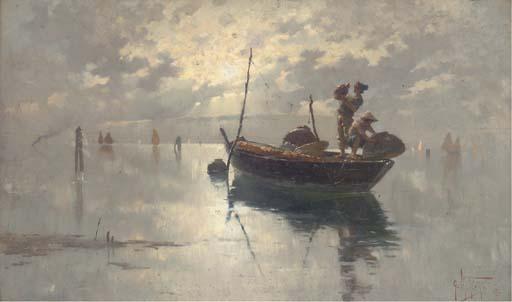 Giuseppe Vizzotto Alberti (Italian, 1862-1931)