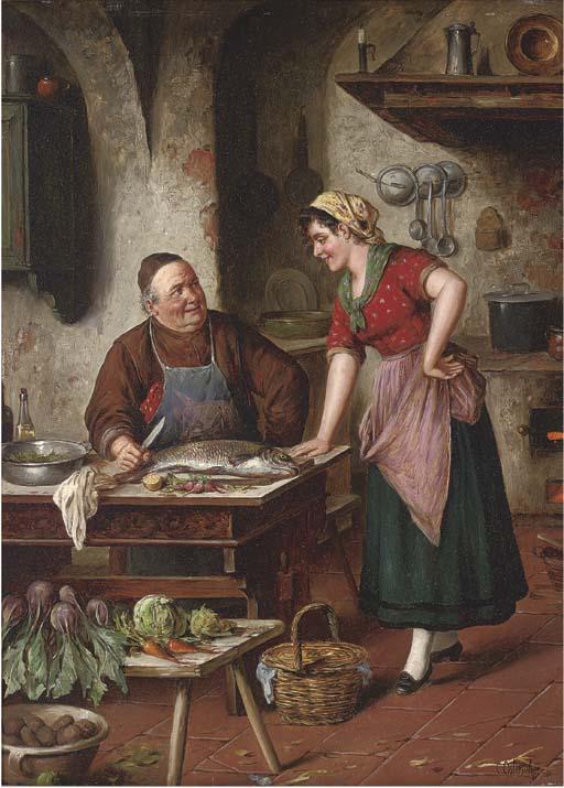 Carl Ostersetzer (German, 1850