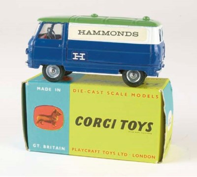 A CORGI 'HAMMONDS' COMMER PROM