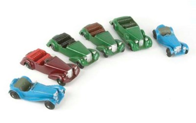 DINKY 38 SERIES SPORTS CARS
