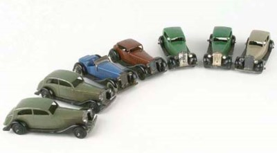 DINKY 30 AND 36 SERIES CARS