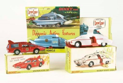 DINKY CAPTAIN SCARLET VEHICLES
