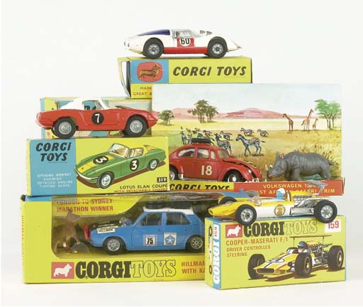CORGI SPORTS AND RALLY CARS