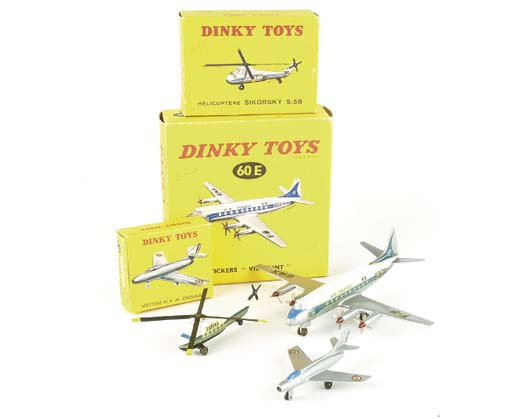 DINKY FRENCH FACTORY AIRCRAFT