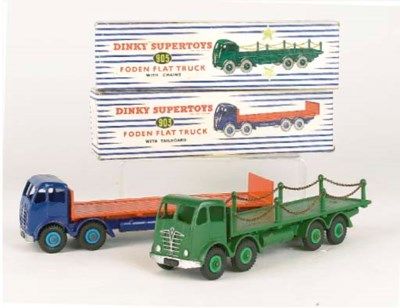 DINKY 2nd TYPE FODEN LORRIES
