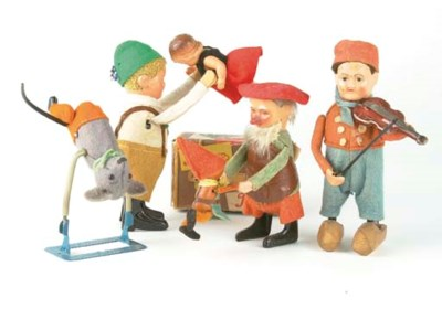 SCHUCO CLOCKWORK FIGURES