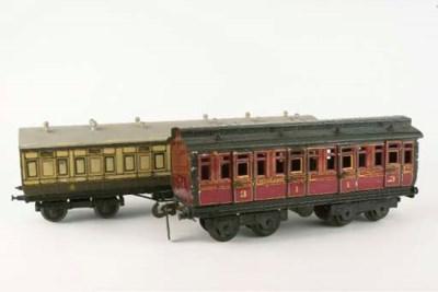 Bogie passenger coaches
