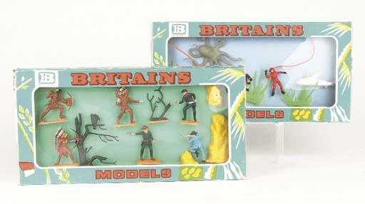 Britains ex-factory prototype unissued sample Minisets