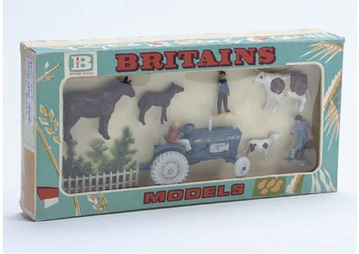 A Britains ex-factory prototype sample unissued Farm Series Miniset