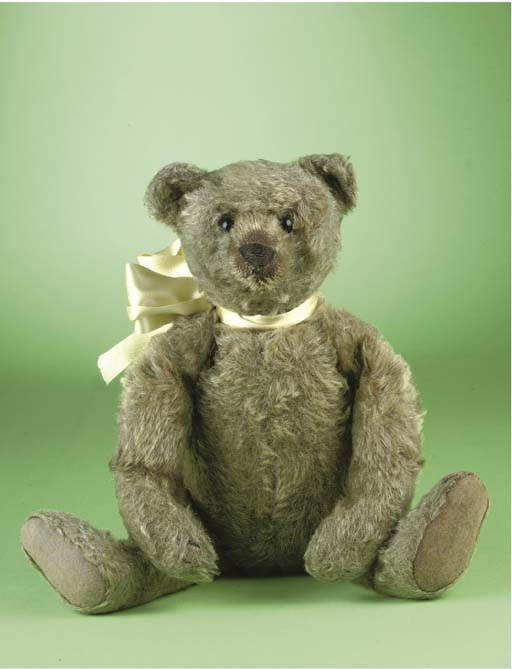 'Teddy', a Steiff teddy bear