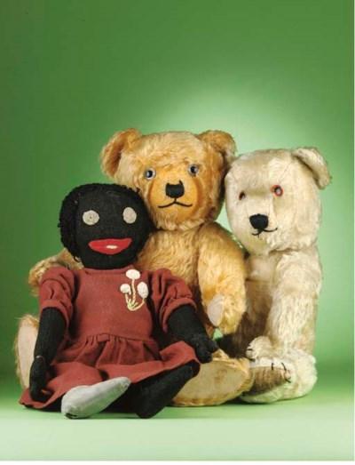 Hubert, Edward and Pearl Walke